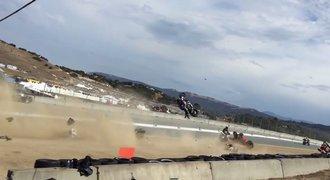 Tragédie během doprovodného závodu superbiků. Zemřeli dva motocyklisté