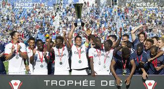 Fotbalisté PSG vyhráli potřetí za sebou francouzský Superpohár