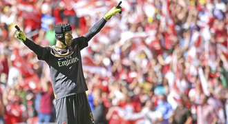 Čech straší soupeře, Terry měl pravdu. Kolik bodů už Arsenalu přinesl?