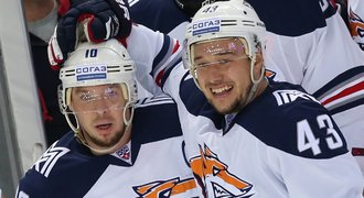 CSKA začal finále KHL jasnou výhrou, poražený Kovář přihrával