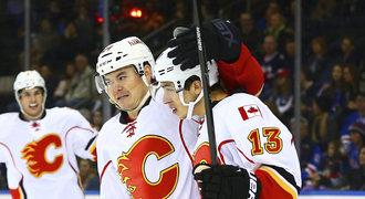 Dvě nahrávky Hudlera byly málo, Flames prohráli potřetí v řadě