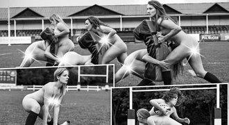 Neskutečně SEXY fotky! Nahé ragbistky odhodily stud a bojují proti anorexii