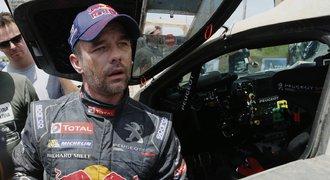 Loeb už řádí i na Dakaru. Myslel jsem, že nám dají na zadek, bál se
