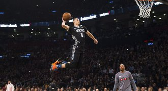 LaVine parádním výkonem obhájil post nejlepšího smečaře NBA