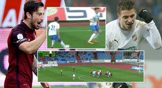 TOP 5 gólů 20. kola: Krásné rány a vychytralý signál Baníku