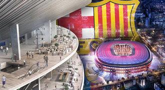 Seznamte se, nový Camp Nou. Takhle bude vypadat stadion Barcelony