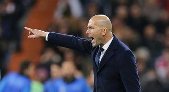 Real vyhrál, Zidane přesto zuřil: Takhle se nikam nedostaneme