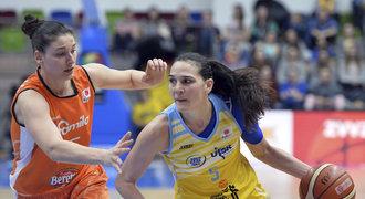 Basketbalistky USK Praha budou hrát Final Four v Istanbulu