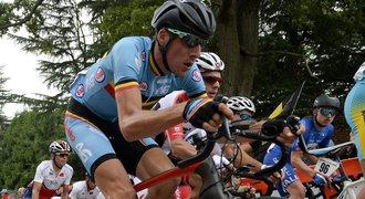 Další tragédie pro Belgii. Cyklista Myngheer zemřel na infarkt