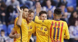 Skvělá Barcelona! Po kritice rozdrtila Deportivo 8:0, Suárez dal 4 góly