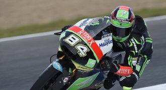 Kornfeil dojel ve Velké ceně Itálie až sedmnáctý, v MotoGP vládl Lorenzo