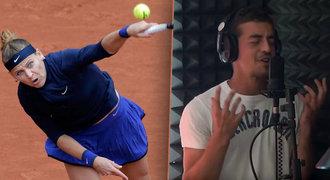 Lucie Šafářová je čerstvě zamilovaná: Tenista ji sbalil na písničku!