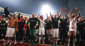 Frankfurt udržel bundesligu. Petrákův Norimberk za dva zápasy netrefil branku