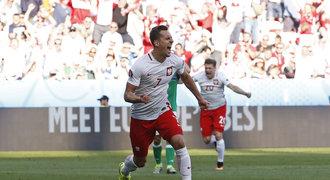 Polsko – Severní Irsko 1:0. Poláci slaví historickou první výhru na EURO