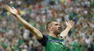 Ukrajina - Severní Irsko 0:2. Favorit nečekaně prohrál s outsiderem