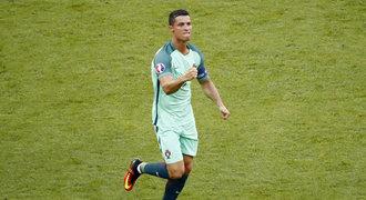 Portugalsko - Maďarsko 3:3. Ronaldo vystřílel postup, Maďaři vyhráli skupinu