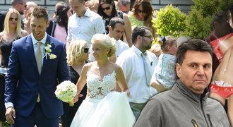 Vladimír Růžička ml.: Svatba bez táty! Vadí mu koučova nová přítelkyně?