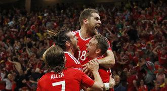 Wales - Belgie 3:1. Senzace! Bale a spol. jsou v semifinále EURO