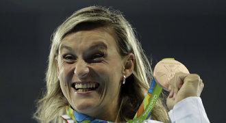 Špotáková: Medaile z Ria mi dala impulz, chci házet i na Hrách v Tokiu