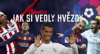 Jak si vedly hv�zdy La Ligy? Messi geni�ln� p�ihr�val, Su�rez ��dn� sl�va