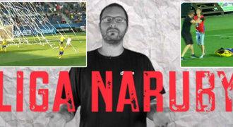 LIGA NARUBY: Fanouškovský speciál – konfety, chorea, pyro, pokřiky