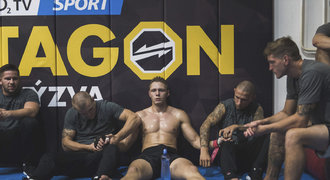 Je to peklo, říká bojovník MMA Běle. Reality show OKTAGON nabídne příběh brutálního hubnutí