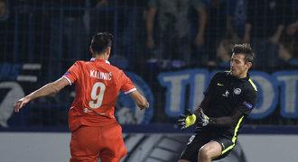 Liberec - Fiorentina 1:3. Výhru favorita řídil Kalinič, domácí jsou poslední
