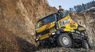Nejmenší kamion i voják v akci. Tým Big Shock Racing se chystá na Dakar