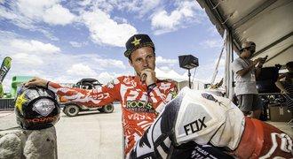 Freestyle motokrosař Podmol opustil rodinu, byl vyhořelý: Deprese léčil v Indii!