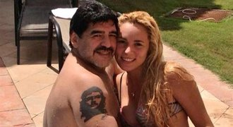 Násilník Maradona! Na hotelovém pokoji napadl o 30 let mladší snoubenku
