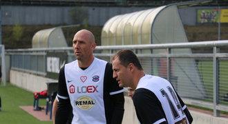 Koller řádil za tým osobností Real Top Praha, který probudil ze zimního spánku