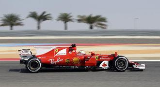 První trénink v Bahrajnu: Ferrari bylo v čele i na chvostu, Vettel dominoval