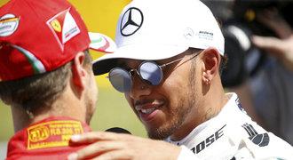 Hamilton ovládl kvalifikaci na VC Španělska, druhý dojel Vettel