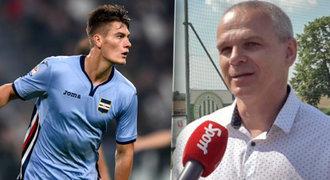 Lavička: Schick a Juventus? Velká výzva, umí ale dát gól z každé situace