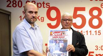 Bukač v Síni slávy deníku Sport: vzpomínal na zlaté MS i hráčská léta