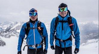 Biatlonisté Moravec s Krčmářem vyměnili běžky za skialpy