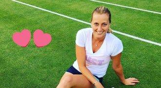 Petra Kvitová vstupuje do travnaté sezony a je... Zamilovaná!
