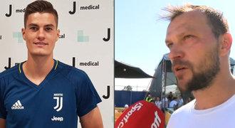 Ujfaluši: Schick se šance v Juventusu chopí. Proč mu nechce dávat rady?