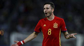 EURO U21 ONLINE: Španělsko - Itálie 3:1. Saúl dovršil hattrick