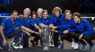 Bitva snů pro Federera! První ročník Laver Cupu ovládl tým Evropy