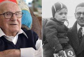 Zachránce židovských dětí z československa sir Nicholas Winton
