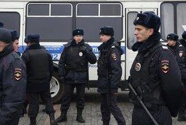 Moskevské metro vyhlásilo letecký poplach