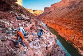 Dobrodruzi Pete McBride a Kevin Fedarko: Extrémní pochod Grand Canyonem