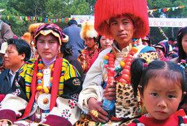 Na buddhistické oslavě v tibetském městě Kchang-tingu aneb Všechno nejlepší, Šákjamuni!