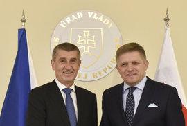 Babiš dostal milionové dotace i na Slovensku, za sponzorský dar Ficovi, říká…
