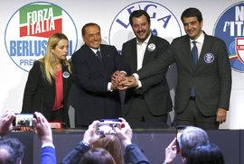 Italské volby ONLINE: Poražena je stará levice i Berlusconi. Politickou mapu…
