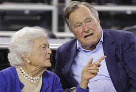 Manželka exprezidenta Bushe odmítla další léčbu. Zaměří se na paliativní péči