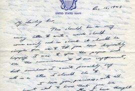 Svět dojímá milostný dopis, který poslal zamilovaný George Bush starší své budoucí…