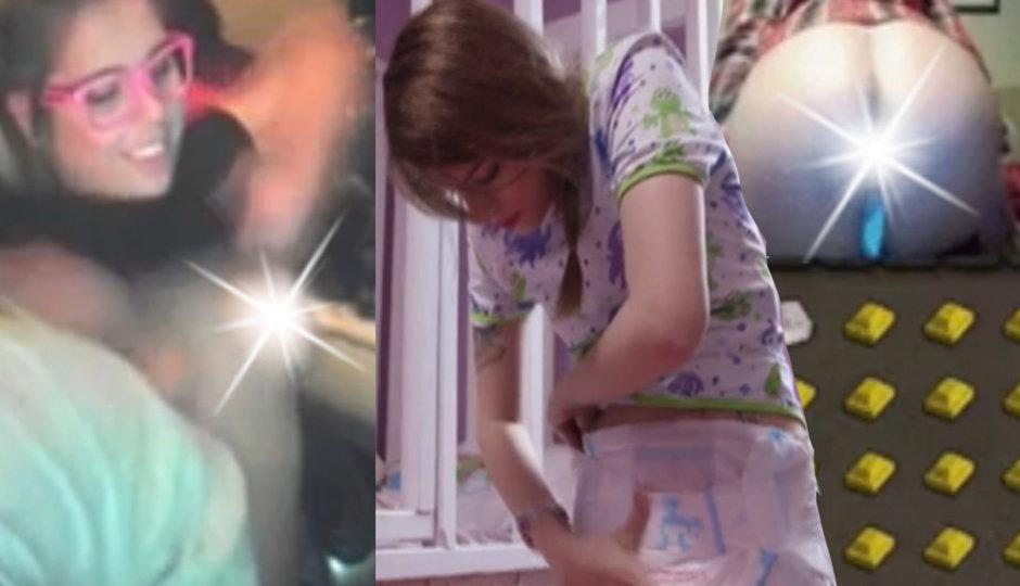 Co holky udělají online pro peníze? A dívka, co si hraje na mimino!
