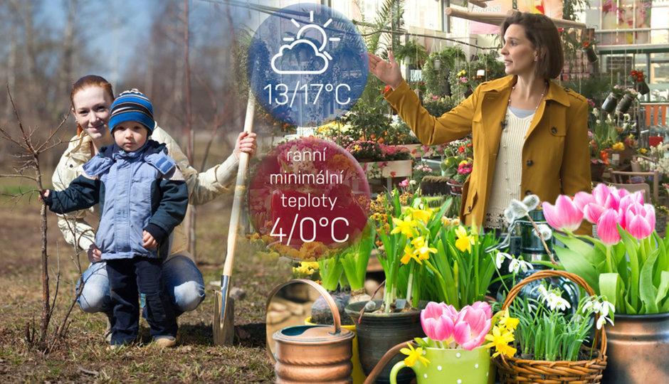 O víkendu přijde jaro a rekordní teploty! Počasí radí, s čím začít na zahradě